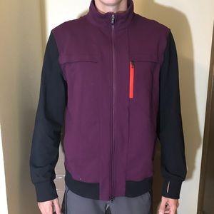 Lululemon men's track jacket